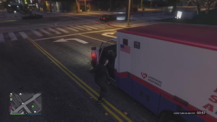 glex playing Grand Theft Auto V
