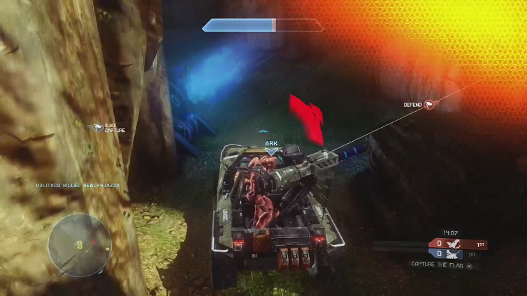 Mapachtle playing Halo: The Master Chief Collection