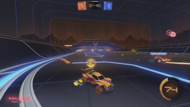 ULTRAnumbz playing Rocket League