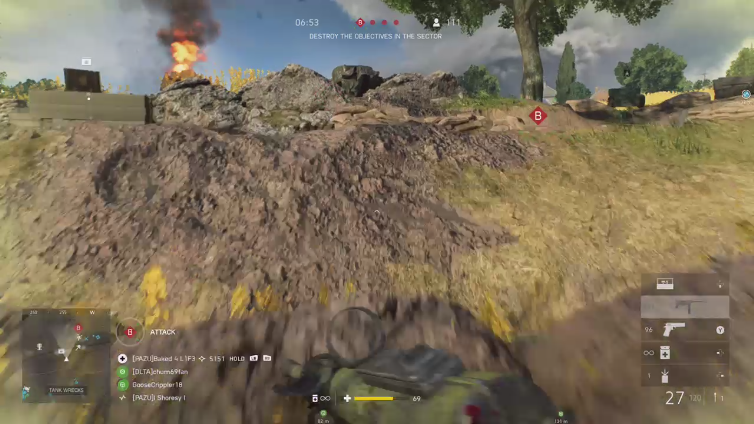 Baked 4 L1F3 playing Battlefield V