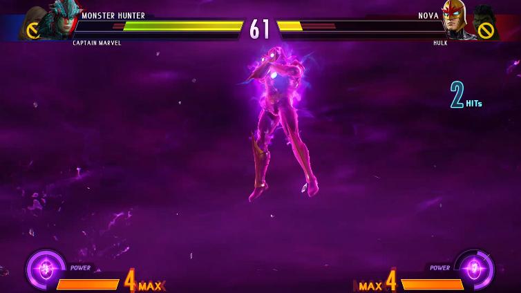 Ninda Nindo playing Marvel vs. Capcom: Infinite